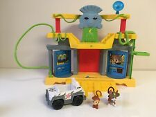 Paw Patrol Jungle Rescue Monkey Temple With Tracker HTF