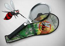 Elektrische Fliegenklatsche Insekten Schröter Insektenvernichter silber