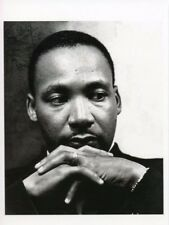 Reverend Civil Rights Leader Martin Luther King Jr Postcard Portait