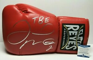 "Floyd Mayweather Jr Signed 21"" Giant Boxing Cleto Reyes Glove ""TBE"" BAS WD96516"
