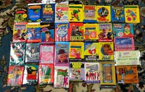 ** Lot of 50 -- VINTAGE - unopened NON-SPORT TRADING CARD packs -- MY CHOICE **