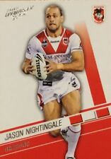 2012 NRL SELECT DYNASTY ST GEARGE DRAGONS 143 JASON NIGHTINGALE COMMON FREE POST