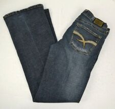 Baby Phat Women's Boot Cut Distressed Blue Jeans 9