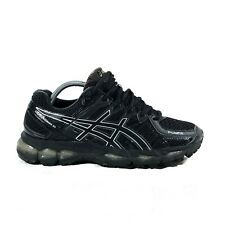 ASICS GEL KAYANO 21 TRIPLE BLACK women's 10 men's 8.5