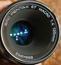 PENTAX SMC MACRO TAKUMAR 6X7 135mm f/4 Lens for Pentax 6X7