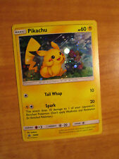 PL Pokemon PIKACHU Card BLACK STAR PROMO Set SM86 Shining Legend Collector Chest