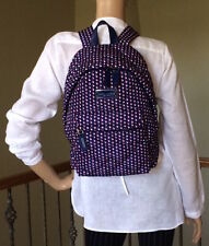 Marc Jacobs Blue Print Multi Quilted Nylon Backpack NWT