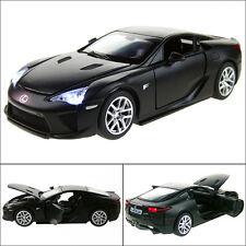 Lexus LFA 1:32 Alloy Diecast Model Car Sound & Light Pull Back Toy Black