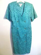 Nahmani Vintage Sea Green Dress Size 12
