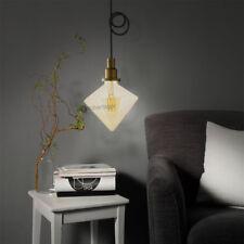 LAMPADINA PRISMA LED FILAMENTO G125 VINTAGE LAMPADA E27 6W LUCE CALDA 2700K