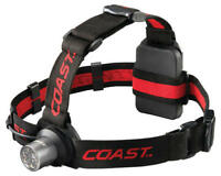 Coast HL5 175 Lumen LED Headlamp w/ Hinged Beam Adjustment Hardhat Compatibility