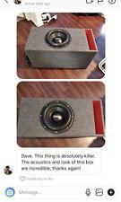 """Sundown Audio X12 Rev2 X-12 V.2 Zv5 Z-12 V.5 NSv4 12"""" Custom Slot Ported Sub Box"""