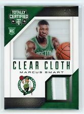 2014-15 Marcus Smart 1/5 Patch Panini Totally Certified Clear Cloth   Rc rookie