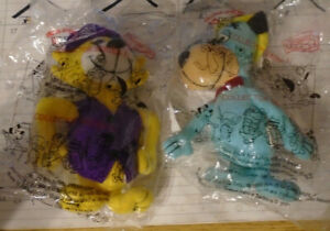 (2) 2000 Classic Toons Dairy Queen Toys