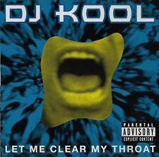 Let Me Clear My Throat [Single] by DJ Kool (Rap) CD CLR Records