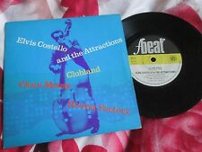 Elvis Costello & las atracciones Clubland F-Beat XX 12 Reino Unido 7 in (approx. 17.78 cm) 45 SINGLE VINILO