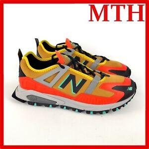 New Balance X-Racer Energy Lime Team Orange Running Shoes MSXRCTWC Men's Size 12