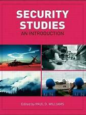 Security Studies: An Introduction, Good Condition Book, , ISBN 9780415425629