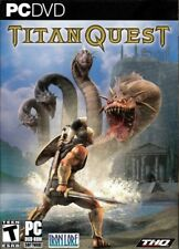Original TITAN QUEST (PC Game) turn Heroes into Legends Win XP/2000 FREE US SHIP