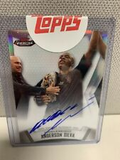 Anderson Silva 2012 Topps Finest Auto #A-AS