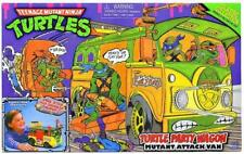 Teenage Mutant Ninja Turtles Classic Collection PARTY WAGON ATTACK VAN 1988 REPR