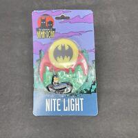 Vintage 1994 DC Comics The Adventures of Batman & Robin Batman Nite Night Light