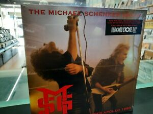 The Michael Schenker Group - Live In Manchester 1980 Double LP Red Vinyl RSD2021