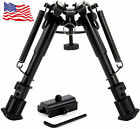 """CVLIFE 6""""-9"""" Tactical Hunting Bipod Adjustable Spring Return with Adapter"""