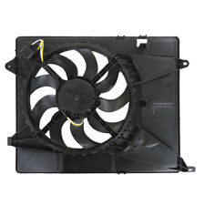 NEW DUAL RADIATOR AND CONDENSER FAN FITS CHEVROLET TRAX 1.9L 2015-2019 GM3115270