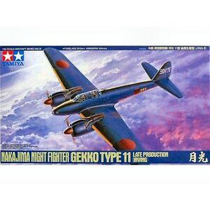 Tamiya 61078 Nakajima Night Fighter Gekko Type11 1/48 scale plastic model kit