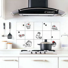 Contact Paper Backsplash Aluminum Foil Tiles Self Adhesive Wallpaper Kitchen
