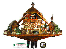 Black Forest Cuckoo Clock 8-Day Goat Peter's Farm NEW