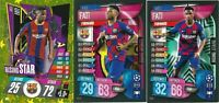 TOPPS MATCH ATTAX 2019/2020 SET OF 3 ANSU FATI ROOKIE CARDS SU9/RS5/RS1