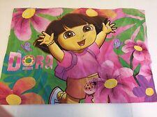 Dora The Explorer Pillowcase Pink Nickelodeon Standard Size