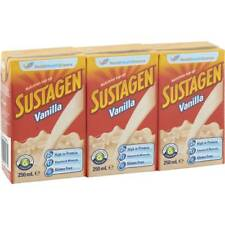 3x Sustagen Vanilla Ready To Drink 3x250ml