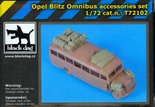 Blackdog Models 1/72 OPEL BLITZ OMNIBUS ACCESSORY SET Resin Detail Set