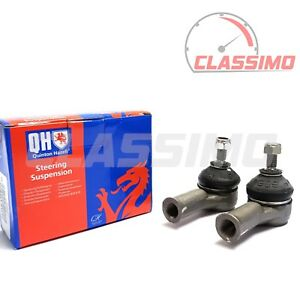 QH Track Tie Rod End Pair for FORD ESCORT Mk 3 & 4 - all models - 1980 to 1990