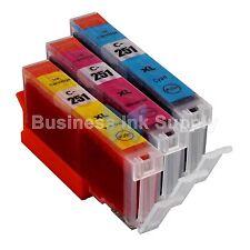 3 COLOR Canon CLI-251XL Compatible Ink Cartridge CLI-251C CLI-251M CLI-251Y
