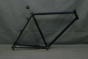 "1988 SR Vintage Touring Road Bike Frame 53cm Small 27"" Butted Steel USA Charity!"