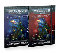 Chapter Approved Grand Tournament 2020 9th Edition Book Warhammer 40K NEW 7/25