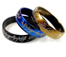 Lot de 36 Acier Bague seigneur des anneaux,Lord Of The Ring, Femme Homme Bijoux