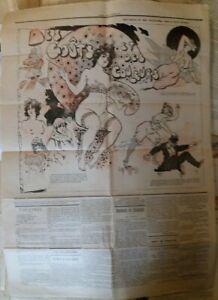 C1 Curiosa FIN DE SIECLE Journal Illustre 537 1896 Jules LEVY Alphonse ALLAIS