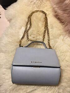 Givenchy Pandora Box Powder Blue Crossbody Bag