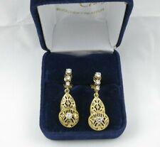 Boucles d'oreilles ancienne diamants