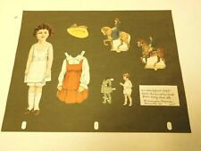 Boy and girls paper doll lot with clothes mixed sets vintage
