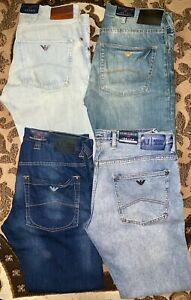 ARMANI JEANS J08 J10 J45 Mens 100% Authentic Giorgio Armani Brand Jeans New!