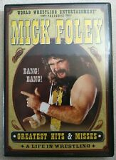 WWE : Mick Foley Greatest Hits & Misses ( DVD,2003 ) 2 Disc Set