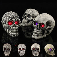 Halloween LED Light Horror Human Skull Zombie Demon Gothic Party Prop Decoration
