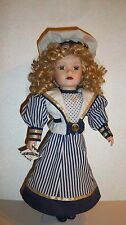 Victorian Garden Nautical-Sailor Themed Genuine Porcelain Doll
