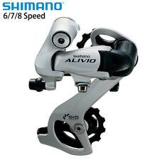 Shimano Alivio RD-M410 6/7/8 Speed  MTB Bicycle Bike Rear Derailleur Silver New